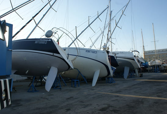 Damage to your boat in the port